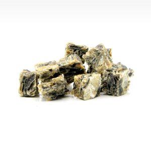 Cibo per cani Snack Naturali di pesce essiccato con pelle di merluzzo