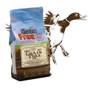 Cibo per cani Grain Free con anatra, patate e arance